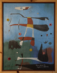 Miro Drops His Liquorice Allsorts by Mike McDonnell