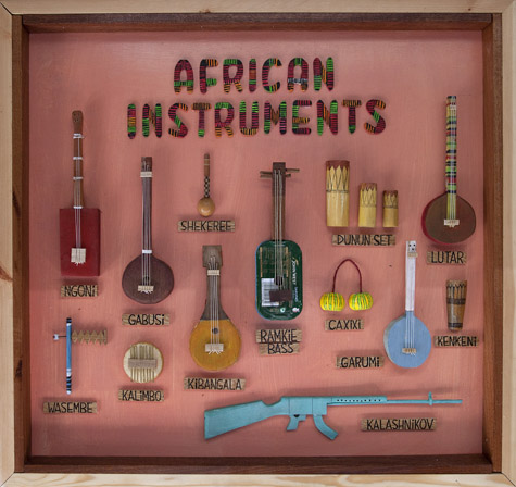 Vaila Fine Art Gt Mike Mcdonnell African Instruments