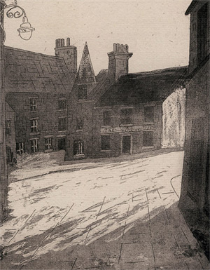 Vaila Fine Art Gallery - etching by Richard Rowland.