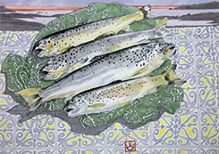 Trout Quartet - click for larger image